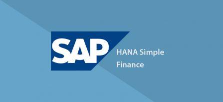 SAP S4 HANA SIMPLE FINANCE TRAINING